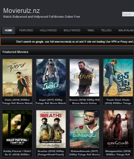 Movierulz.nz: Watch Latest Telugu, Bollywood And Hollywood ...