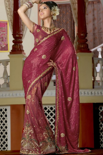 mumtaz style saree draping – Designer Indian Outfits ...