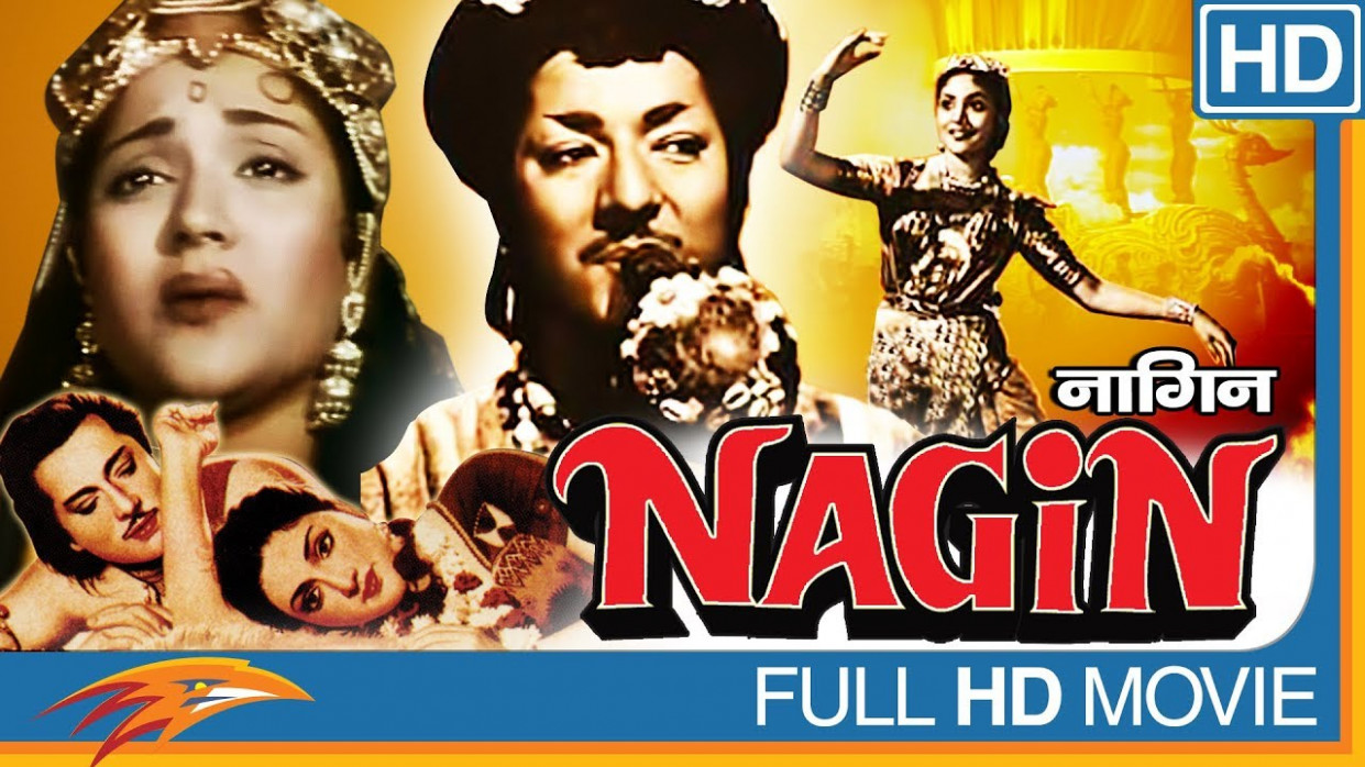 Nagin (1954) Hindi Full Length Movie || Vyjayanthimala ...