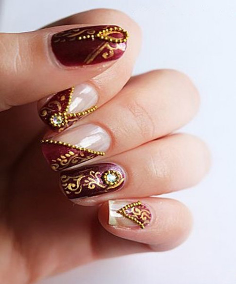 Nail Art For Indian Brides | Fashion in India - Threads