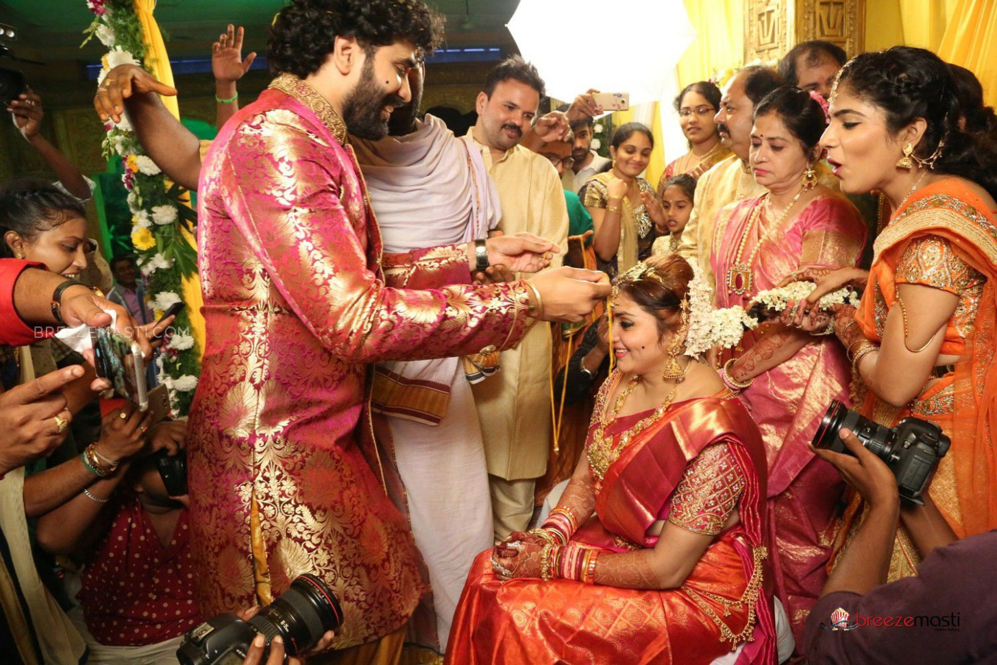 Namitha Kapoor wedding photos, Namitha Marriage Stills