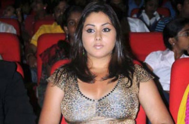 Namitha planning to launch a production house - Tollywood ...
