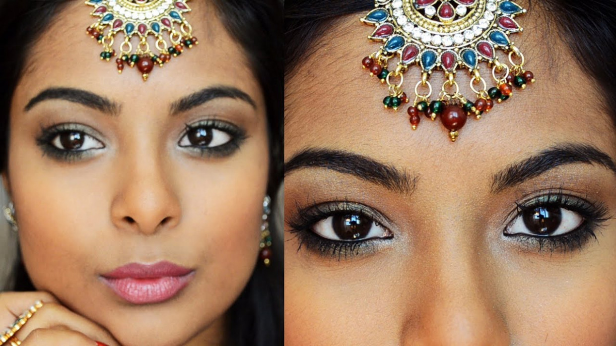 Navratri Special Indian Party Makeup : Collab With ...