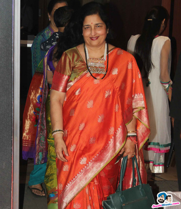 Neil Nitin Mukesh Wedding Reception -- Anuradha Paudwal ...