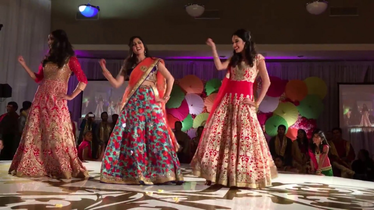 New Bollywood Reception dance 2018 || Sisters Dance on ...