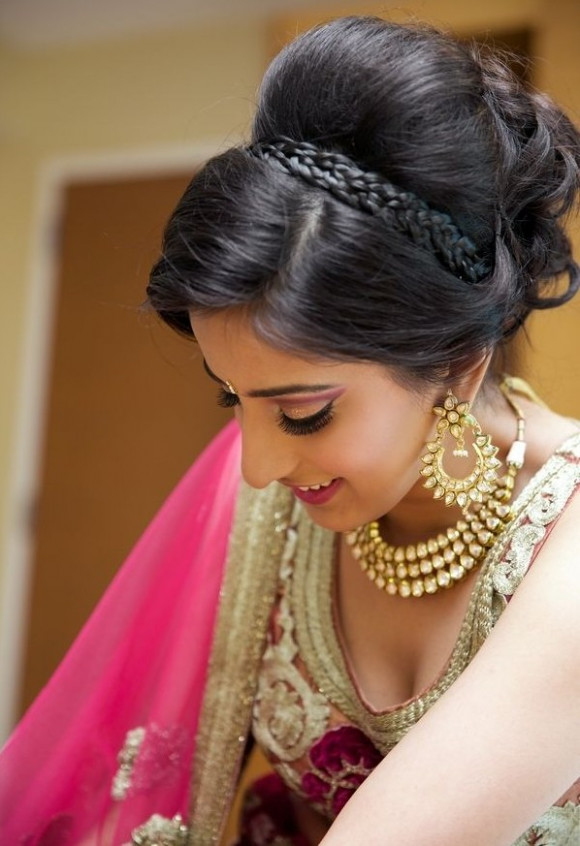 New South Indian Bridal Hairstyles For Wedding ...