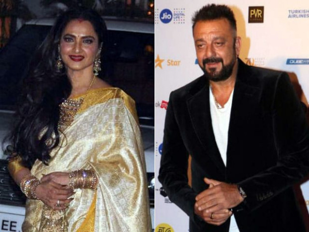 No, Rekha And Sanjay Dutt Aren't Married. This Rumour Is ...