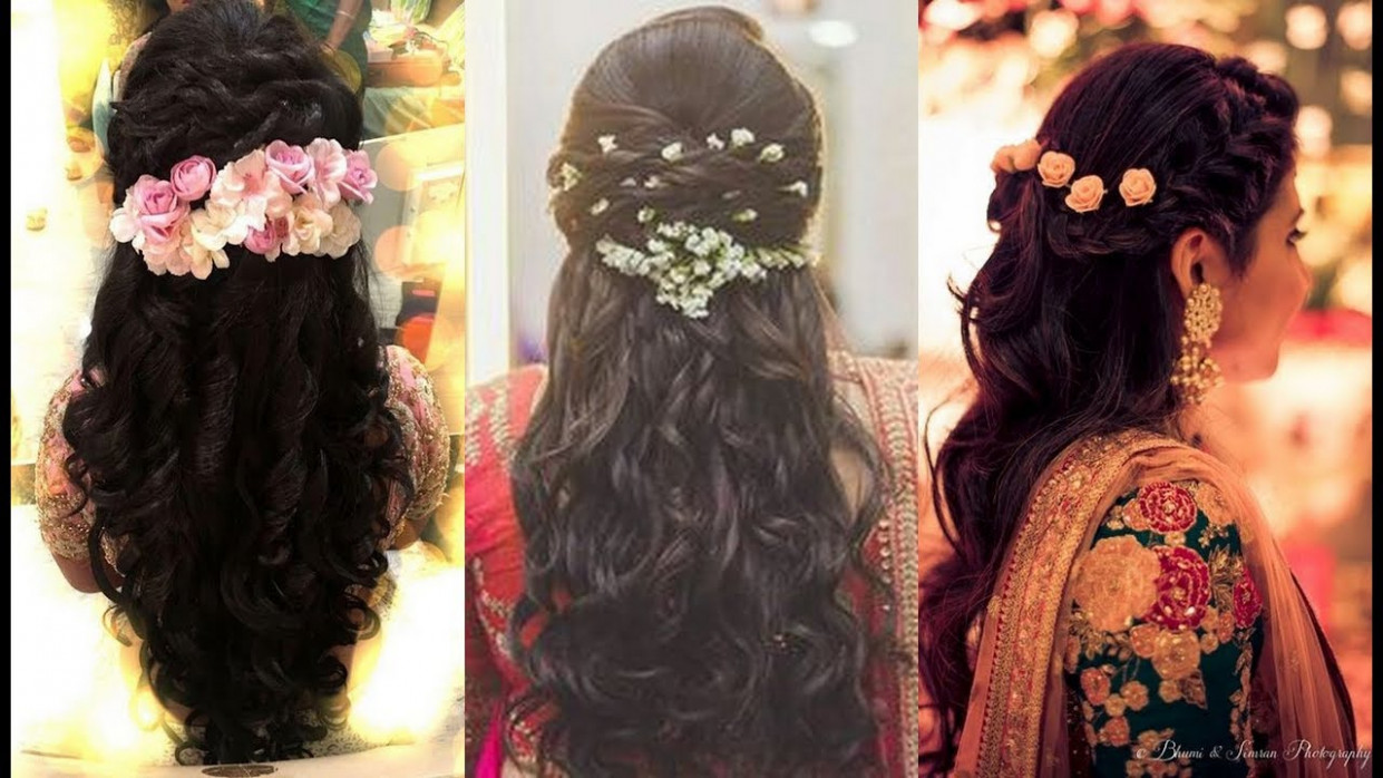 North Indian Bridal Hairstyles For Medium Hair South ...