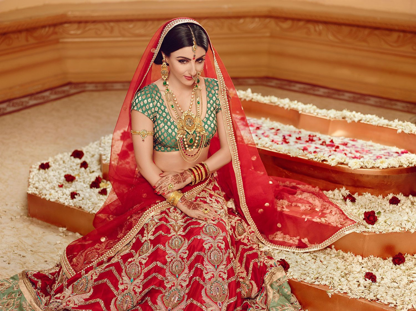 North Indian Hindu Bride | BRIDES OF INDIA | Pinterest ...
