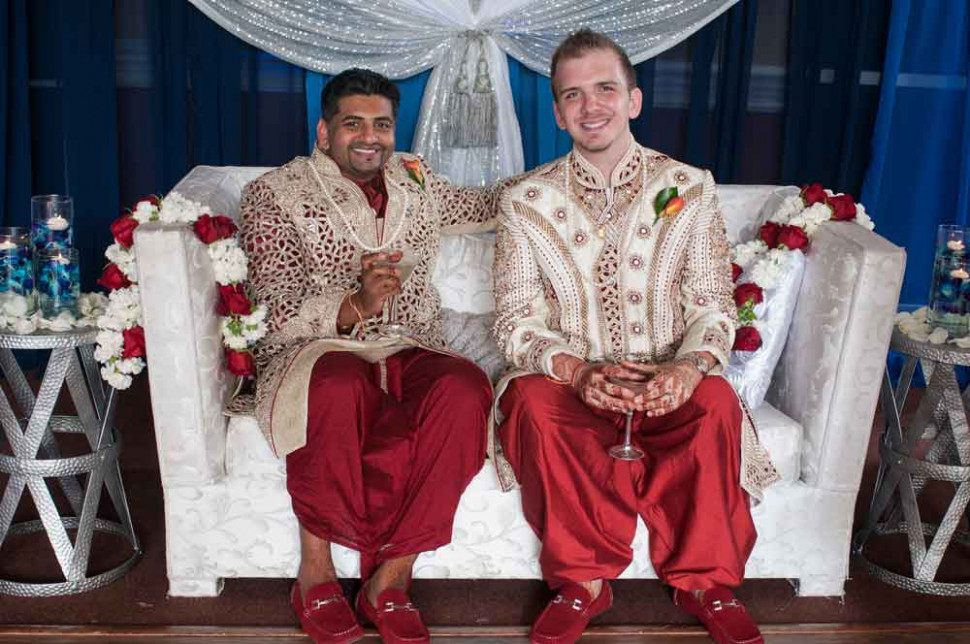 One of Nation's First Traditional Indian LGBTQ Interracial ...