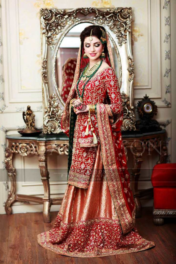 Pakistani Bridal Dresses: 15 Trending Styles To Look Like ...