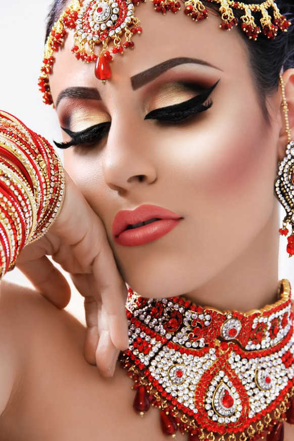 Pakistani Bridal Makeup Ideas For Girls | Henna