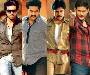 Pawanism: Top 5 heros in Tollywood