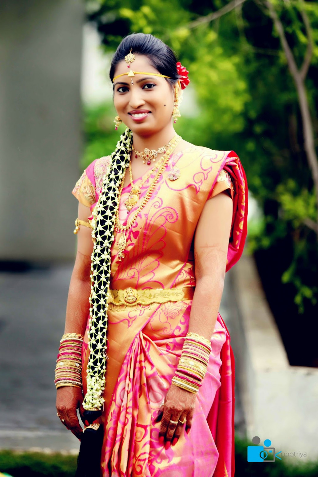 Pelli Poola Jada: South Indian Bridal Hair style