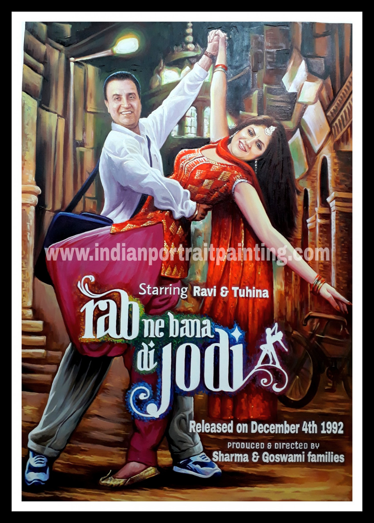 Perfect bollywood style wedding gift for couples – Indian ...
