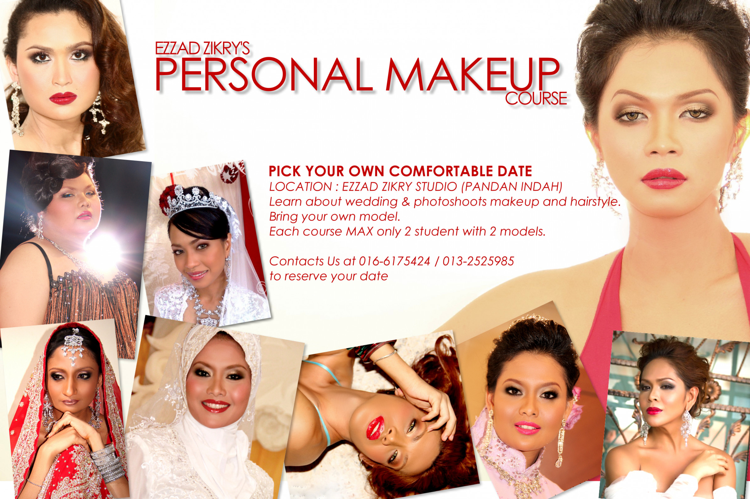Personal Makeup Course In Kl | Saubhaya Makeup