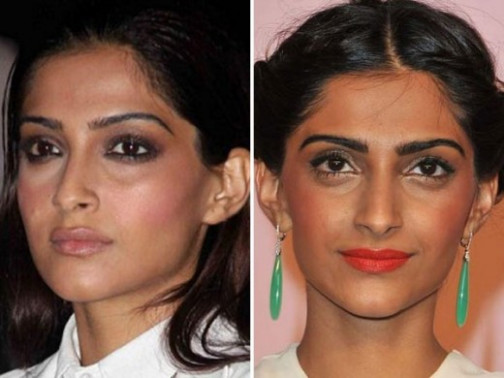PHOTOS: 5 BIGGEST makeup disasters of Bollywood actresses! - bollywood actress makeup foundation