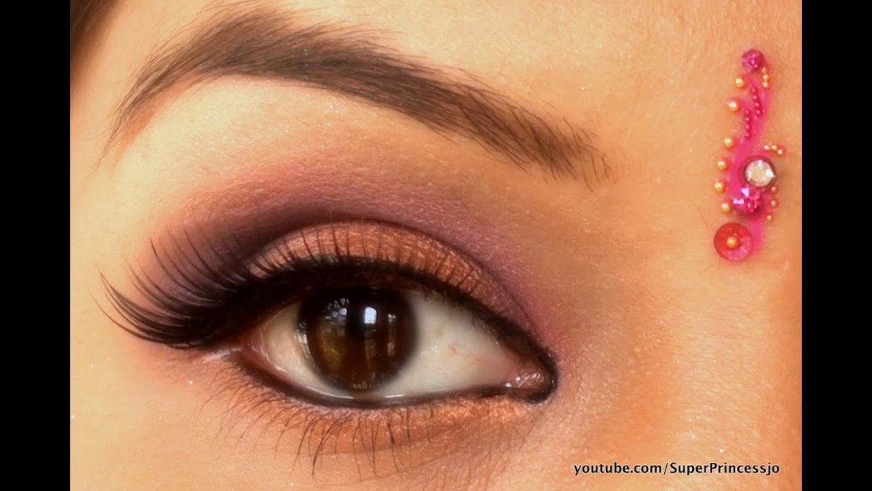 Pics For > Indian Girl Eye Makeup