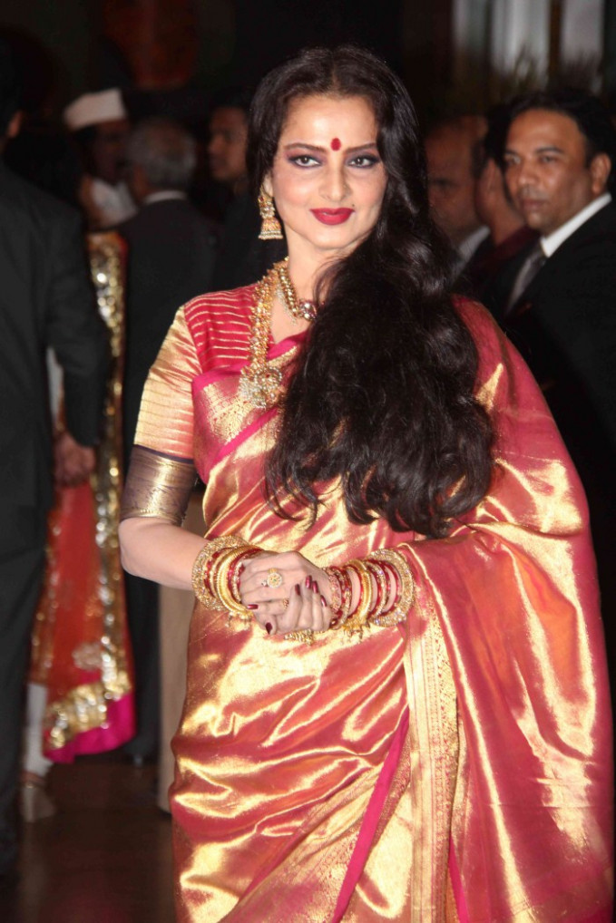 Picture 165271 | Actress Rekha @ Genelia Wedding Reception ...