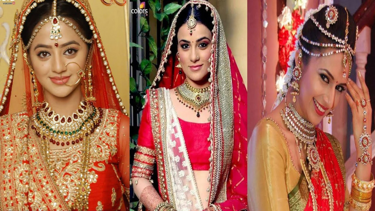 Popular Indian Television Actresses And Their Bridal Looks ...