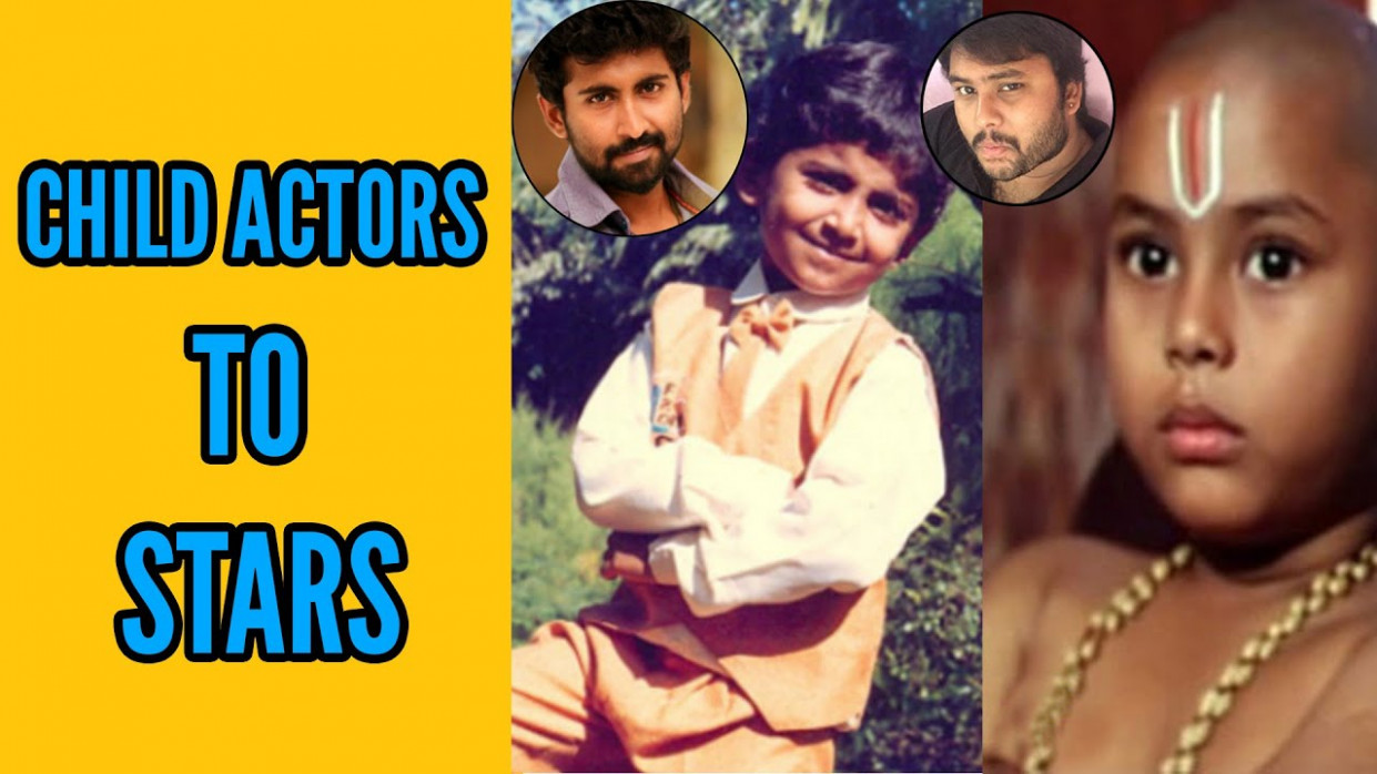 Popular Tollywood Child Actors Then and Now - YouTube