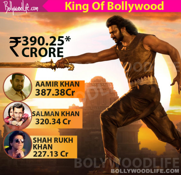 Prabhas dethrones Aamir Khan to become the King of ...