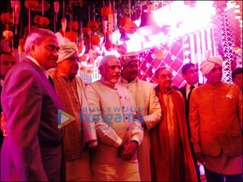 Prime Minister Modi attends Sonakshi Sinha's brother's ...