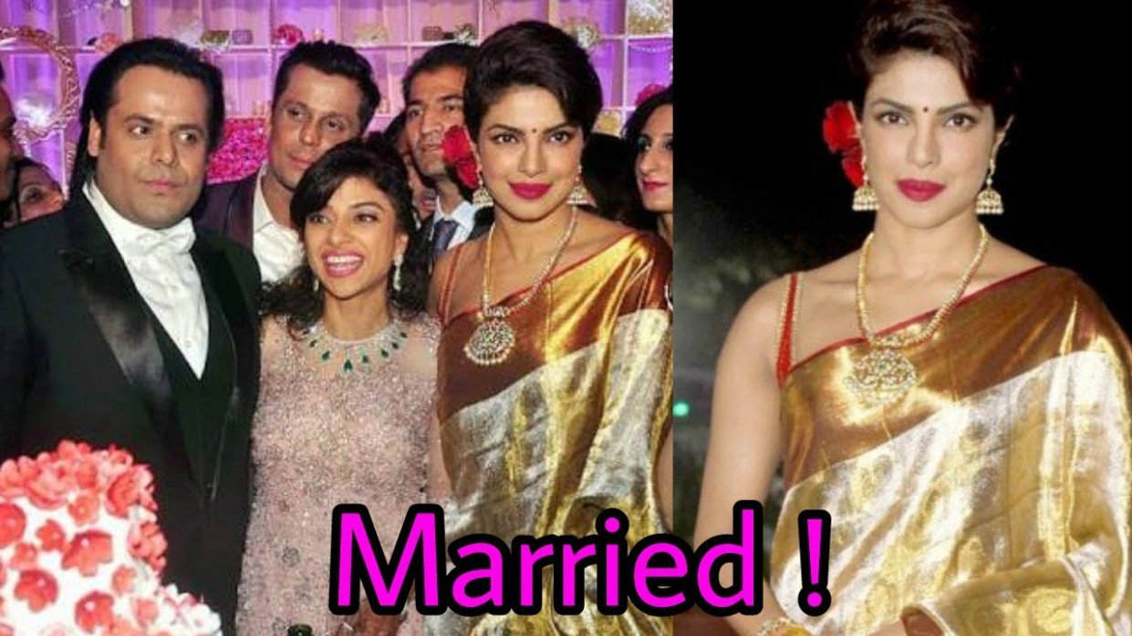 Priyanka Chopra got married in USA |Latest Bollywood News ...