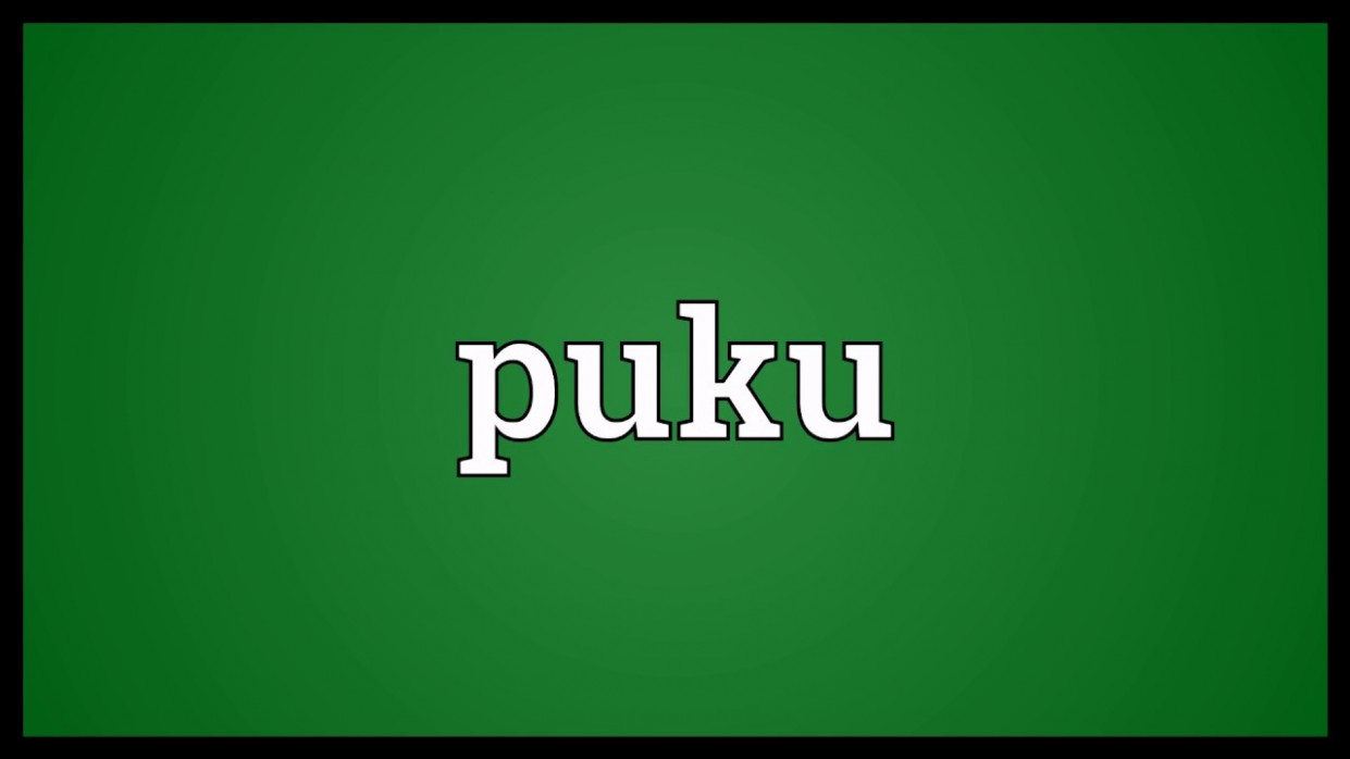 Puku Meaning - YouTube
