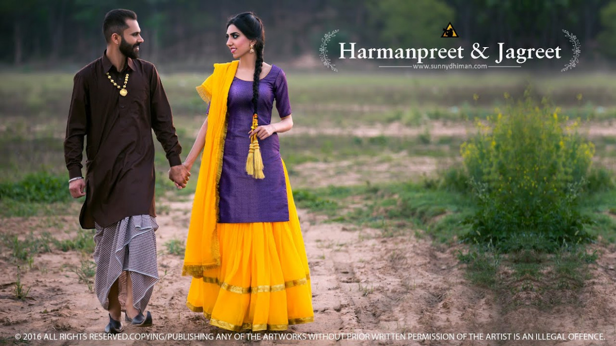Punjabi Pre Wedding Couple Photography | www.pixshark.com ...
