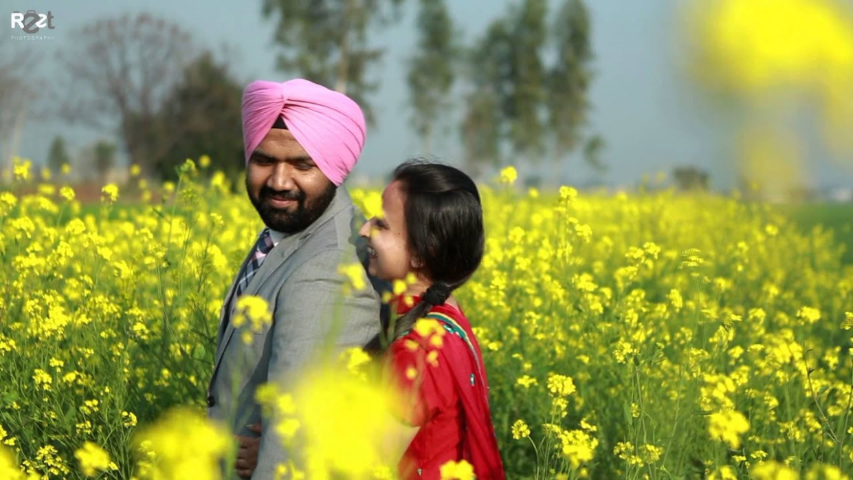 punjabi Pre wedding shoot - YouTube