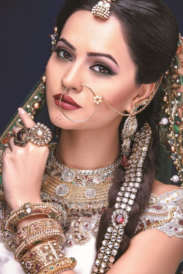 Rajasthani Bridal Makeup | Indian Bridal Makeup ...