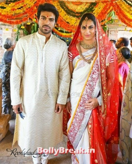 Ram Charan Teja, Upasana Kamineni Tollywood Marriage Pics ...