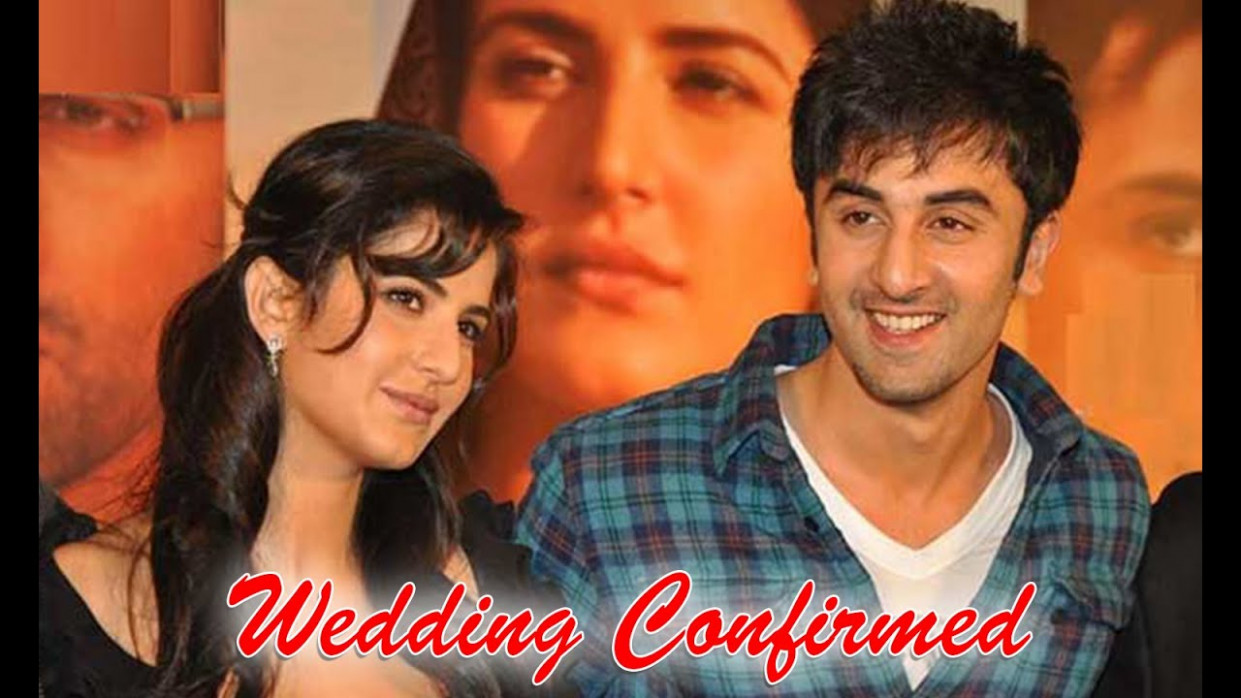 Ranbir Kapoor and Katrina Kaif Marriage in 2016 | New ...