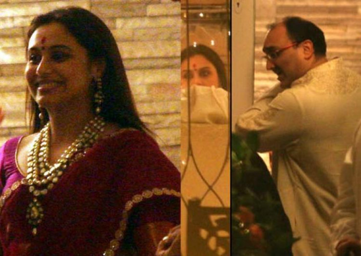 Rani Mukerji ties the knot with Aditya Chopra secretly in ...