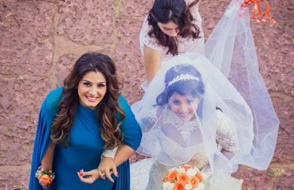 Real weddings: Raveena Tandon Daughter wedding photos
