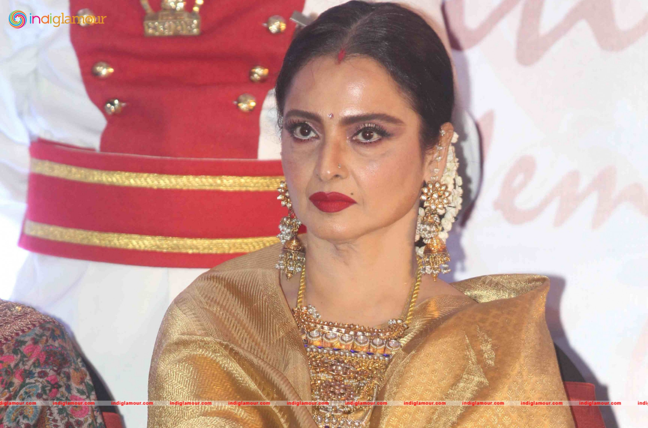 Rekha at 3rd National Yash Chopra Memorial Award
