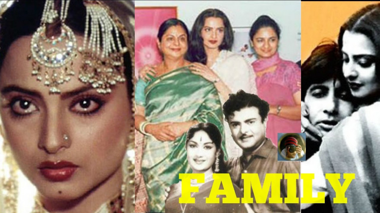 Rekha Family with Parents, Sisters, Husband and Boyfriends ...