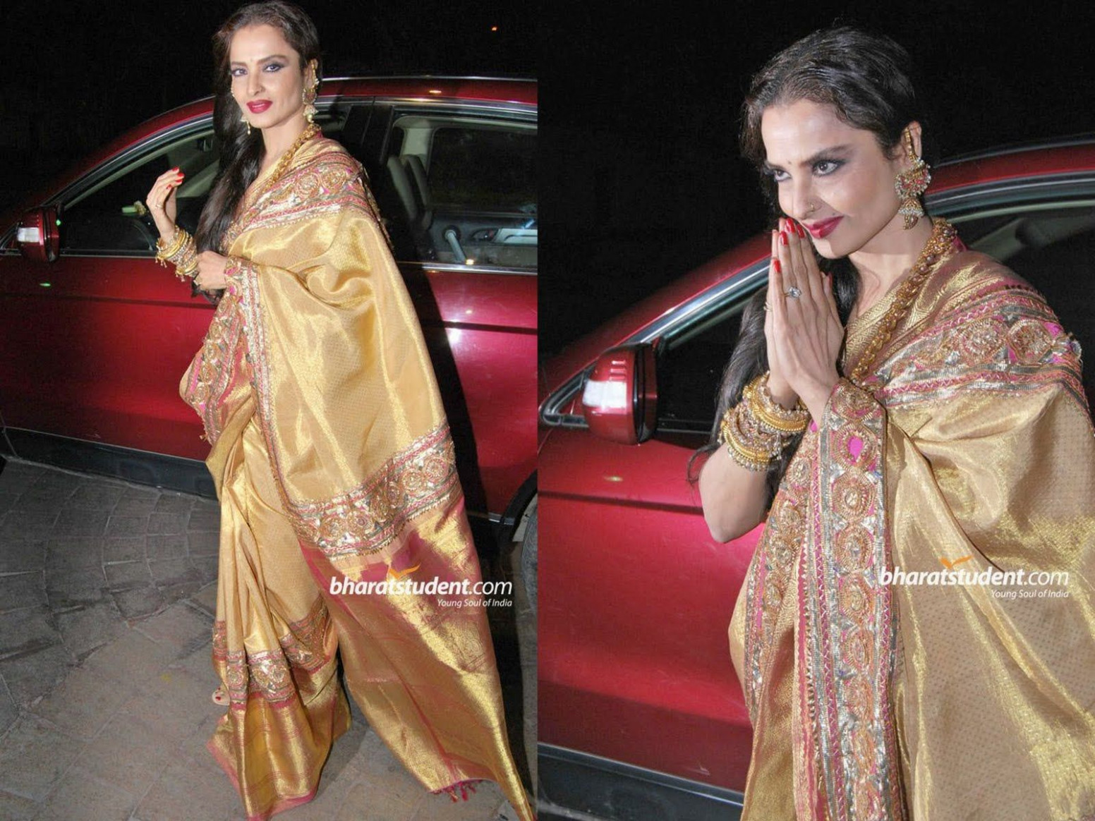 rekha Saree | Rekha Actress Marriage Photos | ♥ sari ...