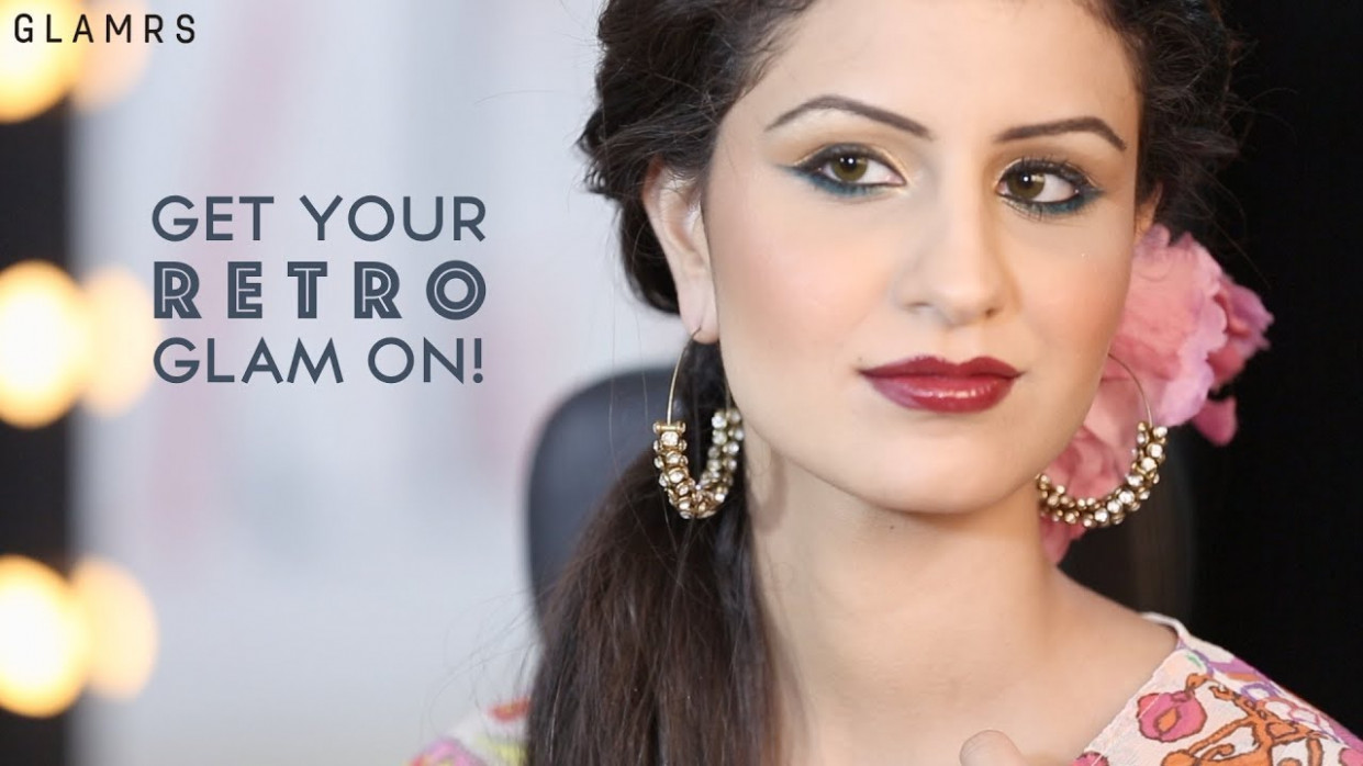 Retro Bollywood Glam | Glamrs Makeup with Pallavi Symons ...