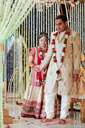 Rose and Crystal Indian Wedding by Bodhi Vision ...