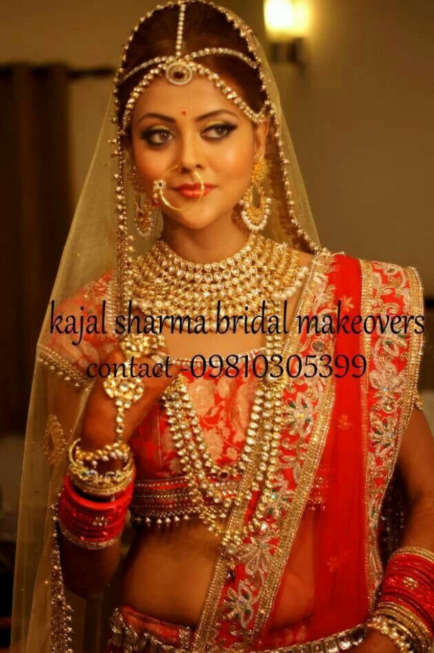 Royal indian bridal look by kajal sharma... | Indian ...