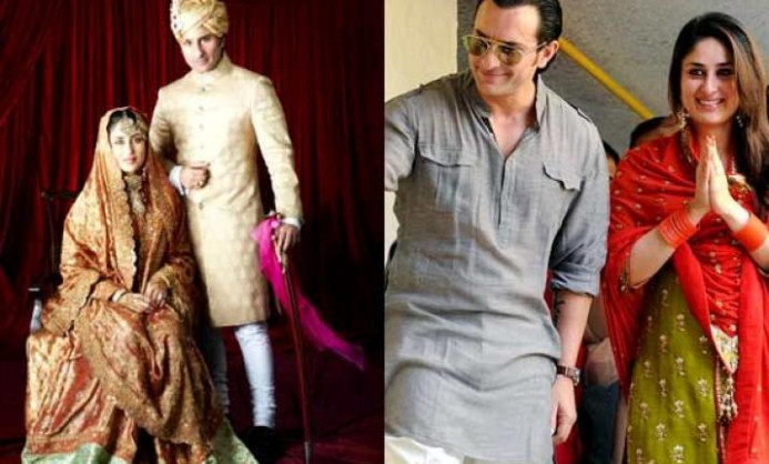 Saif-Kareena 2nd anniversary: Rare wedding pics