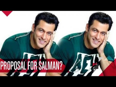 Salman Khan Gets A CUTE Marriage Proposal! | Bollywood ...