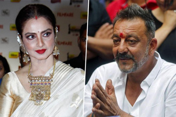 Secret Marriage of Rekha - Sanjay Dutt Leaked?