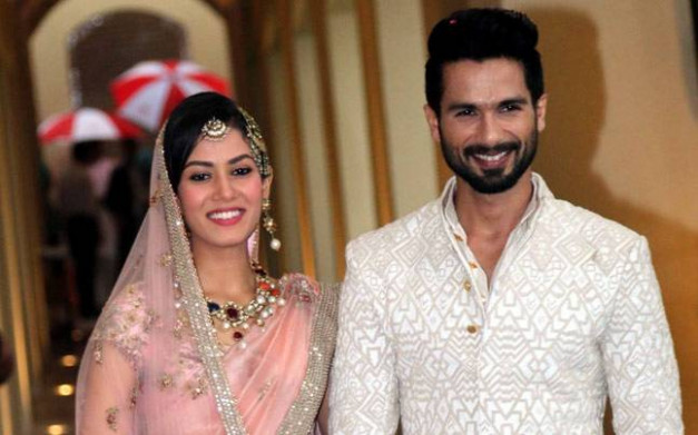 Shahid Kapoor and Mira Rajput make a royal couple at a ...