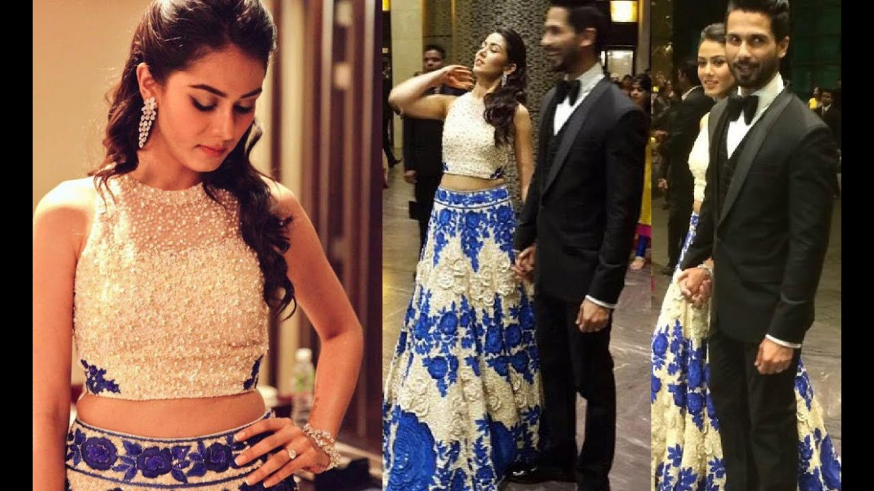Shahid Kapoor Mira Rajput Wedding Reception - Mumbai ...