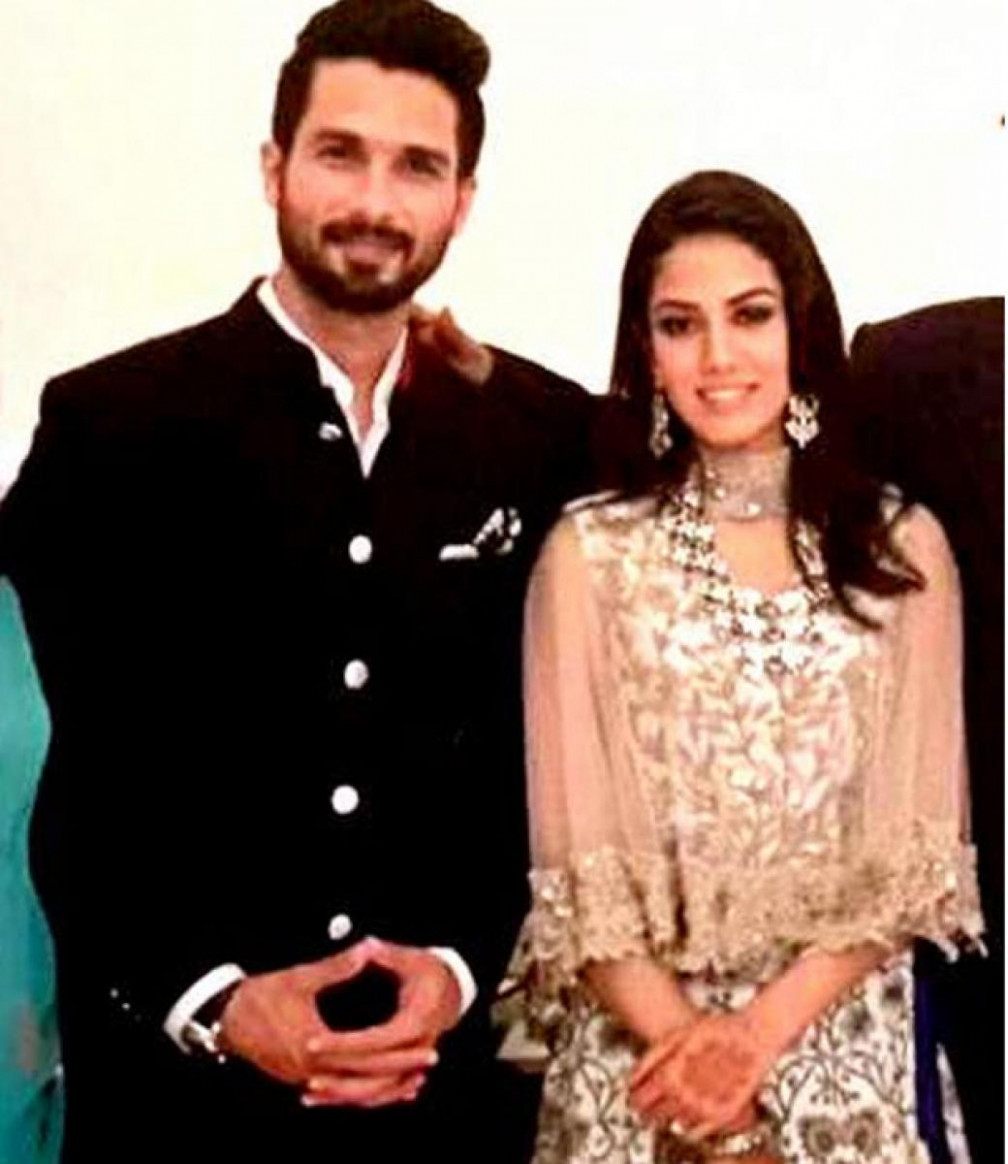 Shahid Kapoor Wedding Album Photos