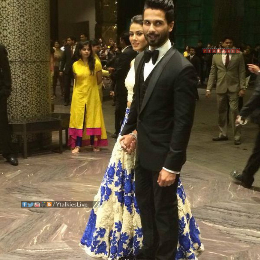 Shahid Kapoor Wedding Reception Photos