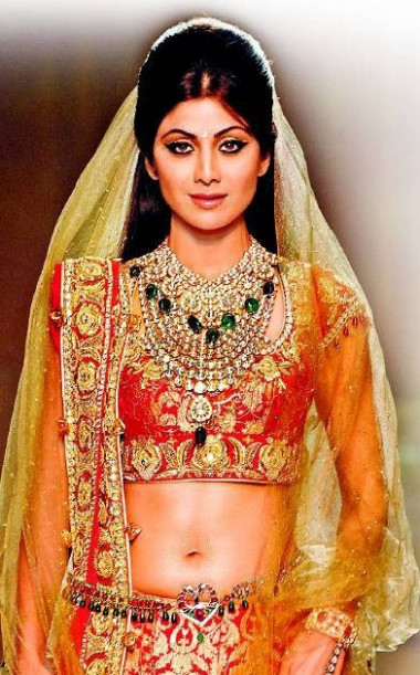 Shilpa Shetty bridal look | Bollywood Pictures